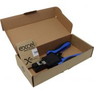 Excel Fast RJ45 Plug Termination Tool - Feed Thru