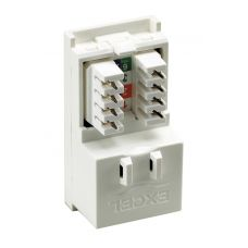 Excel Cat.5e Low Profile RJ45 UTP Module