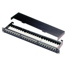 Cat.5e Shielded Right Angle RJ45 Patch Panel