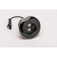 IRIS Module 4 x USB Charging Ports (4A) Black