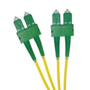SC/APC - SC/APC 9/125 OS2 Duplex Patch Leads