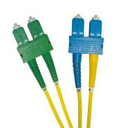 SC/APC - SC 9/125 OS2 Duplex Patch Leads