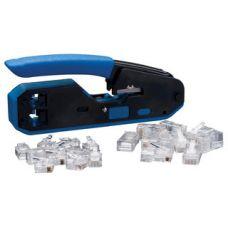Data/Voice RJ-45/RJ-11 Crimp Tool Kit