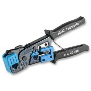 Ideal Telemaster™ RJ-11/RJ-45 Crimp Tool