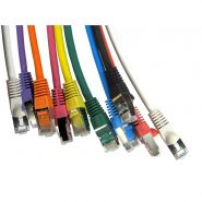 Cat.6A LSOH SFTP Patch Leads