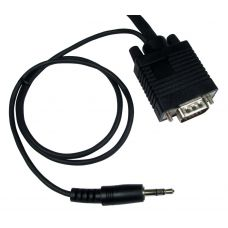 3m SVGA M - M Cable with In-Built 3.5mm Audio - Black