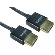Super Slim 10.2Gb HDMI Cables 1m, 2m & 3m