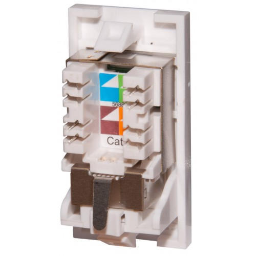 Cat6a Ftp Euro Module From 163 3 45 Adept Networks