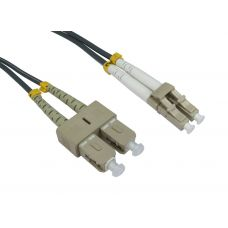 62.5/125 OM1 LC-SC Duplex Patch Leads