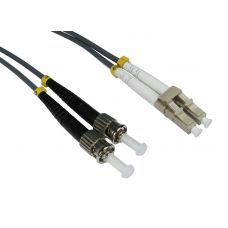 62.5/125 OM1 LC-ST Duplex Patch Leads
