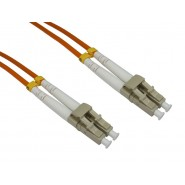 50/125 OM2 LC-LC Duplex Patch Leads