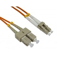 50/125 OM2 LC-SC Duplex Patch Leads