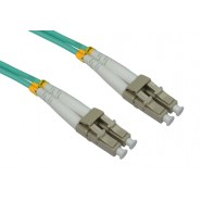 50/125 OM3 LC-LC Duplex Patch Leads