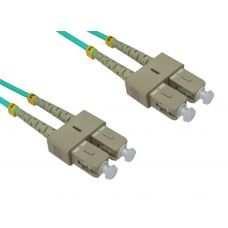 50/125 OM3 SC-SC Duplex Patch Leads