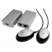 HDMI Extender over Cat.5e/6 with IR pass through