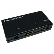 2 Port HDMI Switch Supporting HDMI 1.3b