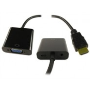HDMI (Source) to VGA (Display) Adaptor+Audio+USB Power