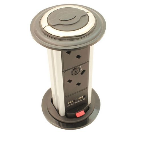 4 Way Kitchen Vertical Power Dock Dual Usb From 163 58 00