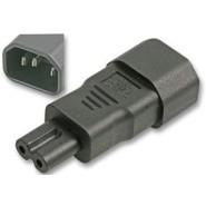 IEC Plug C14 to Fig 8 C7 Adaptor