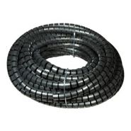 10-40mm Black Spiral Cable Binding, 25m