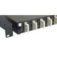 12 Port SC Duplex (24 Fibre) Loaded MM Patch Panel