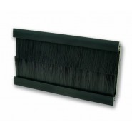 Black Brush Insert for Faceplate 100x50mm