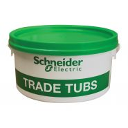 Tub Red Plugs & Screws (500) plus Bit/Driver