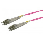 50/125 OM4 LC-LC Duplex Patch Leads