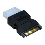 SATA 15 Pin to 4 Pin Molex Power Adaptor