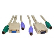 All in One KVM Moulded Cables