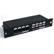 "SoHo 10"" Combined Cat.5e / Voice Patch Panel"