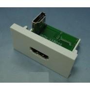 HDMI Coupler 90 Deg. 25x50mm White