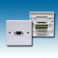 15 Way HD Faceplate with Screw Terminals