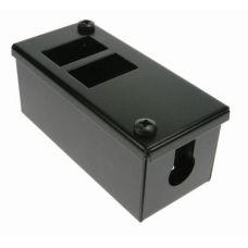PF Data Box 2 x Horizontal 6C Cut-outs