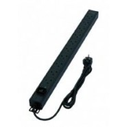 16 Way Vertical UK PDU, 3m Lead