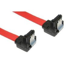 Locking Serial ATA Data Cable, Right Angled - 45cm