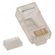 COB RJ45 Cat.6 Crimp Plugs