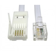 3m RJ11 - BT Plug Crossover Lead
