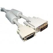 2m DVI-D 25 Male - LCD 20 Male
