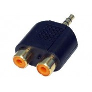 3.5mm Stereo to Twin RCA adaptor