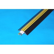 Cable Cover Hazard 80x18mm x 3m