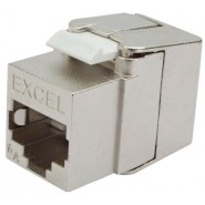 Excel Cat.6A Low Profile Toolless Jack