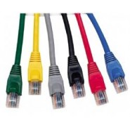 4m UK Booted Category 5e Patch Leads