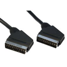 21 pin Scart to Scart Gold Cables